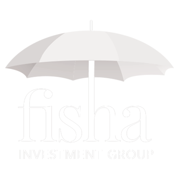 White fisha logo