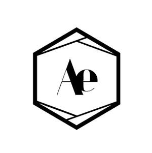 Angles and earth black logo