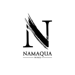 Black logo of namaqua wines